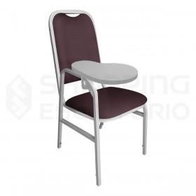 Cadeira para Auditório Prancheta Escamoteável