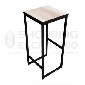 Banqueta Alta Design Industrial -