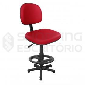 Cadeira giratória rodinha caixa balcão