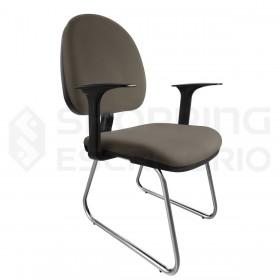 cadeira fixa escritório curitiba ergonomica