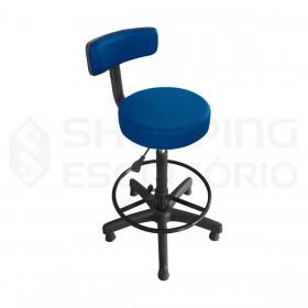 Cadeira Giratória Caixa Mocho Com