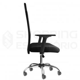 cadeira giratória rodinhas tela presidente