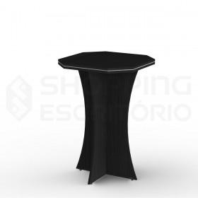 mesa bistro alta bar sextavada