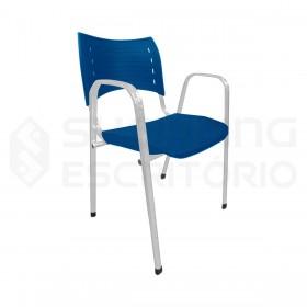 Cadeira ISO Plastica Polipropileno Empilhavel