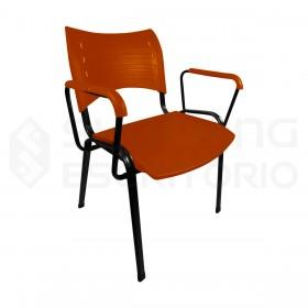 cadeira plástica empilhável iso polipropileno