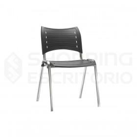 cadeira fixa iso plastica polipropileno
