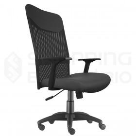 cadeira giratória rodinhas telada escritório