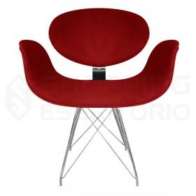 Cadeira Fixa Tulipa 4 Pés