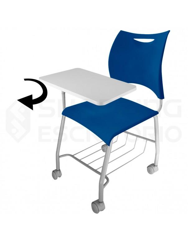 Cadeira Universitária Design PP Estrutura