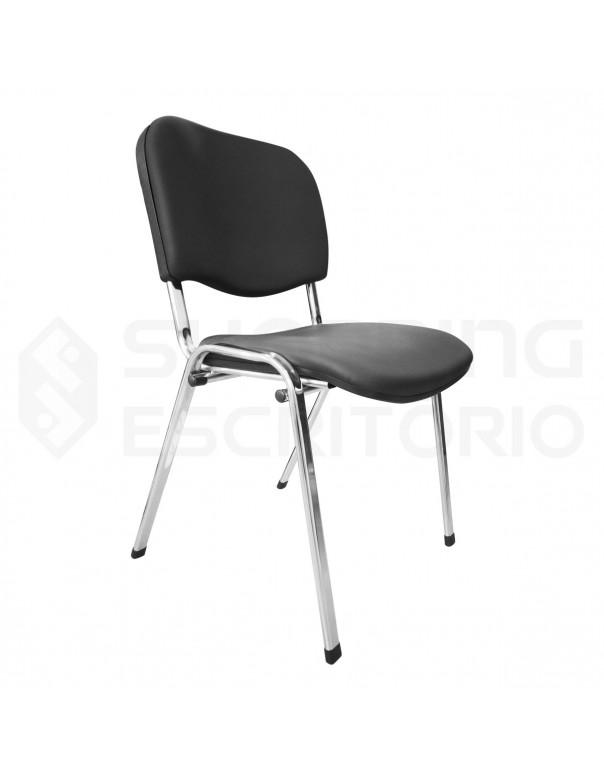 Cadeira Fixa 4 Pés Empilhável