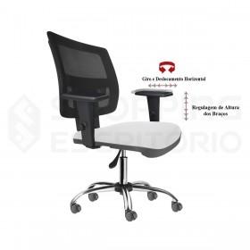 Cadeira Giratória Back System Gerente