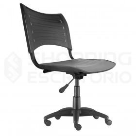 Cadeira Giratória Plástica PP Base
