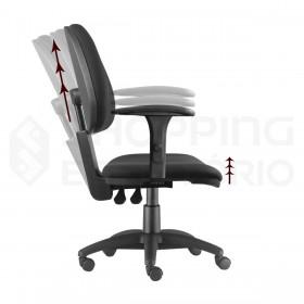 Cadeira Giratória Ergonômica Back System