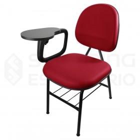 Cadeira Universitária Executiva com Prancheta