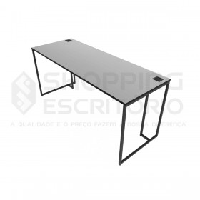 Mesa Reta Design Industrial -