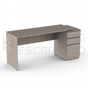 mesa reta painel móveis planejados