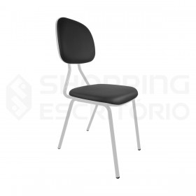 Cadeira Fixa 4 Pés Secretária