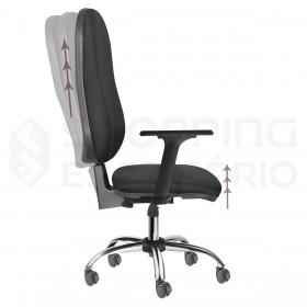 Cadeira Giratória Back System Presidente