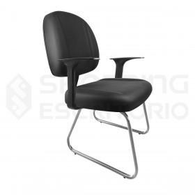 Cadeira Fixa Trapézio Gerente Gomada