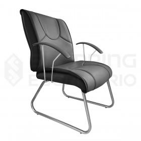 Cadeira Fixa Trapézio Diretor Ônix