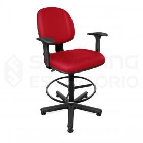 Cadeira Giratória Caixa Gerente Gomada
