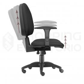 Cadeira Giratória Back System Ergonômica
