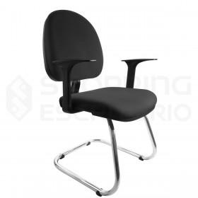 Cadeira Fixa Ski Ergonômica Corporativa