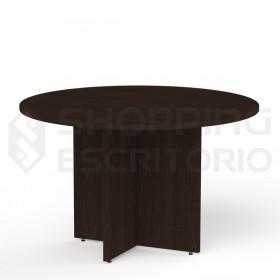mesa reunião redonda escritório planejados