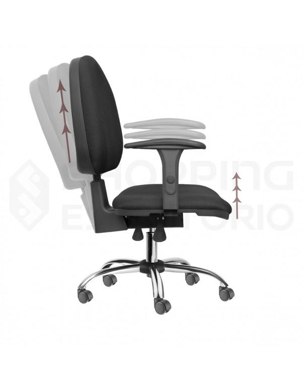 cadeira giratoria rodinha escritorio gerente