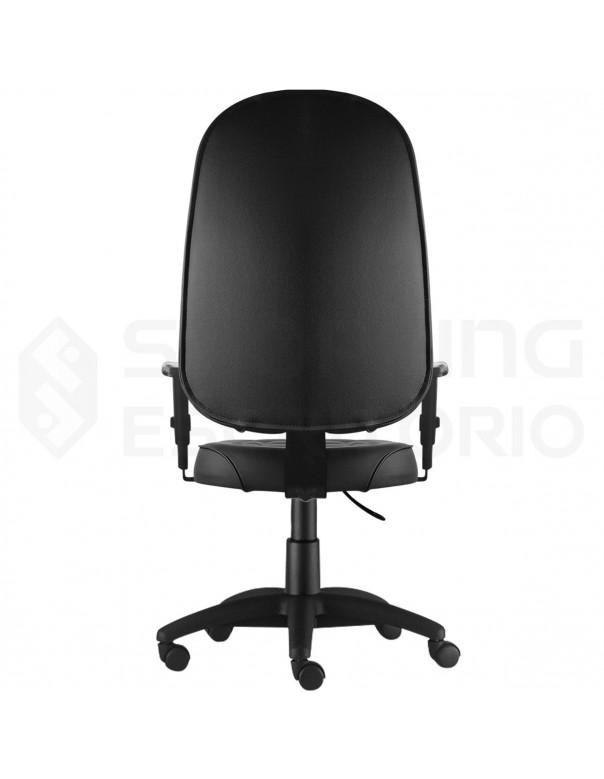 Cadeira Giratória Presidente Debrum Base Nylon