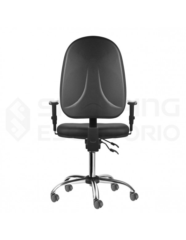 cadeira giratoria back system rodinha