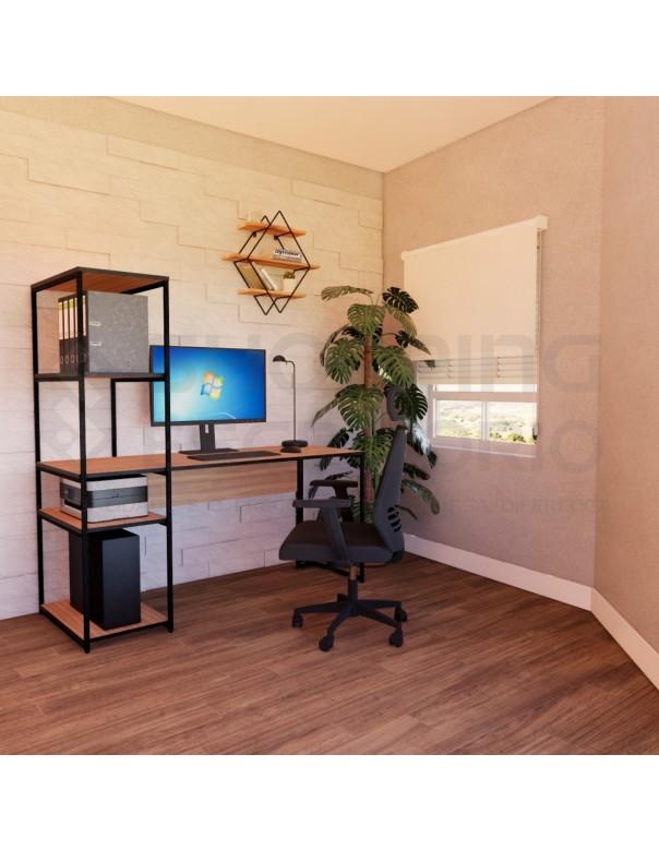 Mesa Estante Home Office 5