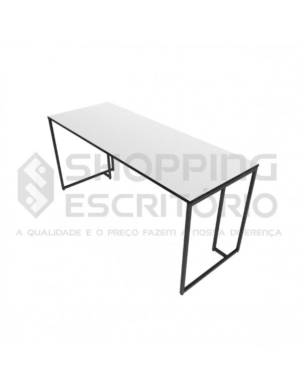 Mesa Reta Design Industrial -