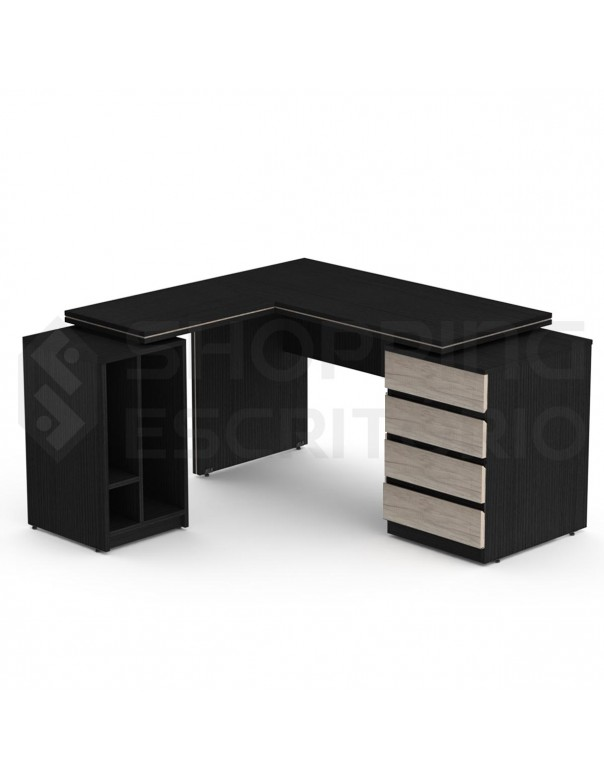 mesa escritorio gaveteiro cpu nobreak