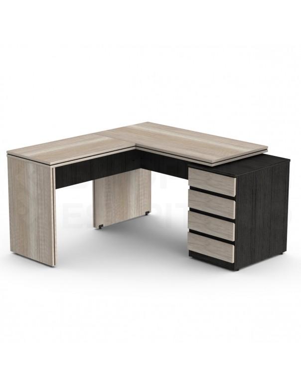 mesa gaveteiro prime estação trabalho