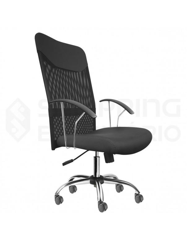 Cadeira Giratória Presidente Tela Mesh