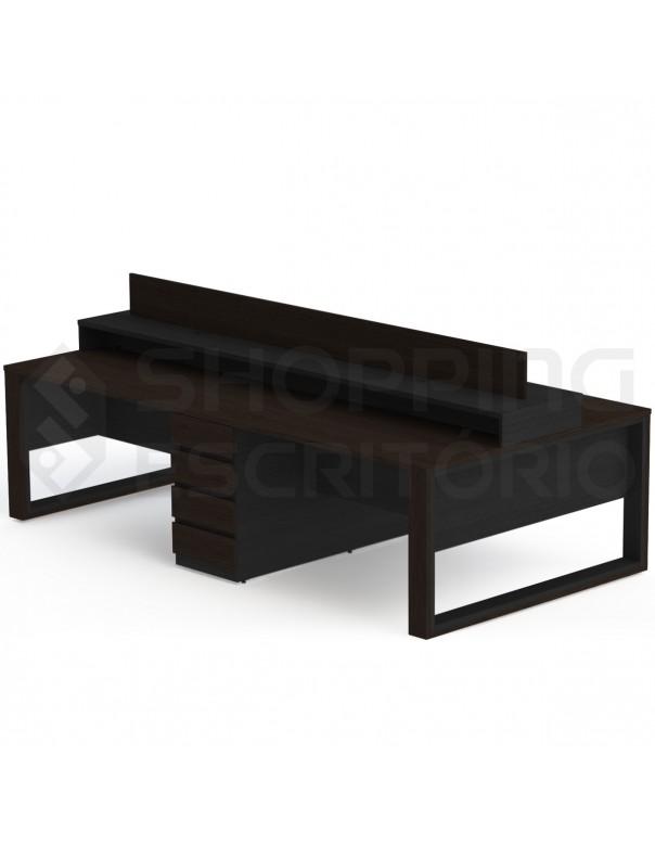 plataforma trabalho ilha estação mesa