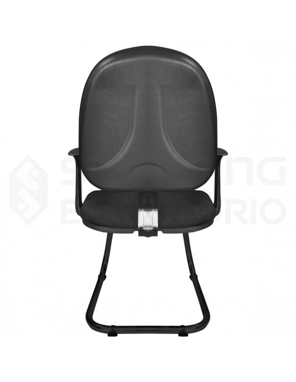 Cadeira Fixa Ski Ergonômica Corporativa Gerente Capa de Proteção PP