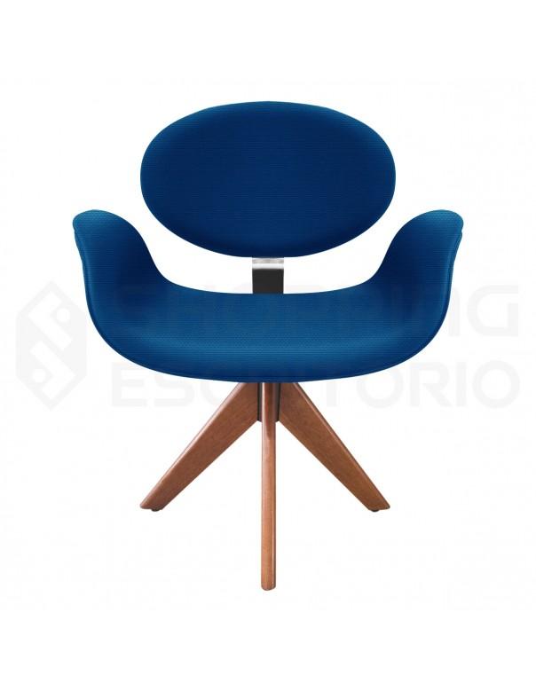 Cadeira Fixa Tulipa Base Giratoria