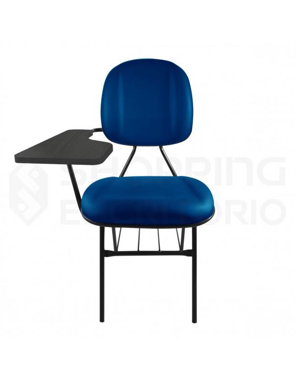Cadeira Universitária Gerente Gomada Prancheta Fixa